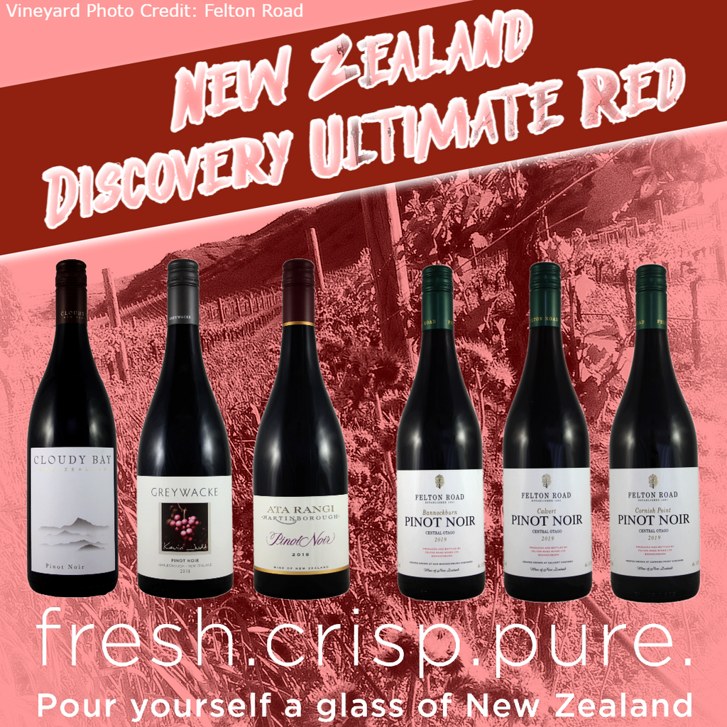 Discovery Ultimate Reds Selection Case, New Zealand
