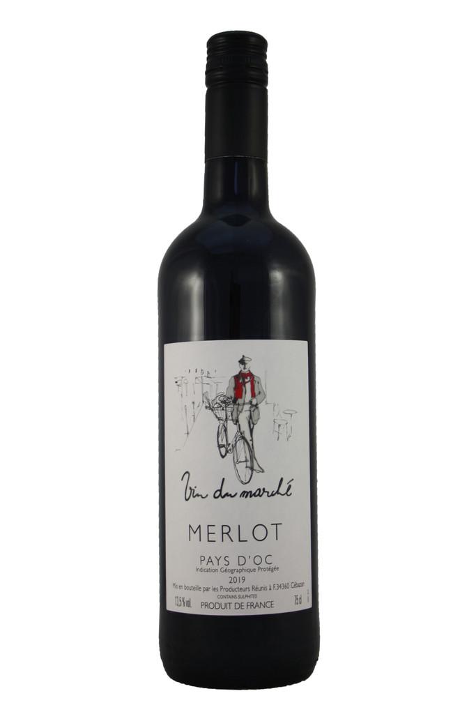 Vin du Marché Merlot, Languedoc Roussillon, France, 2019