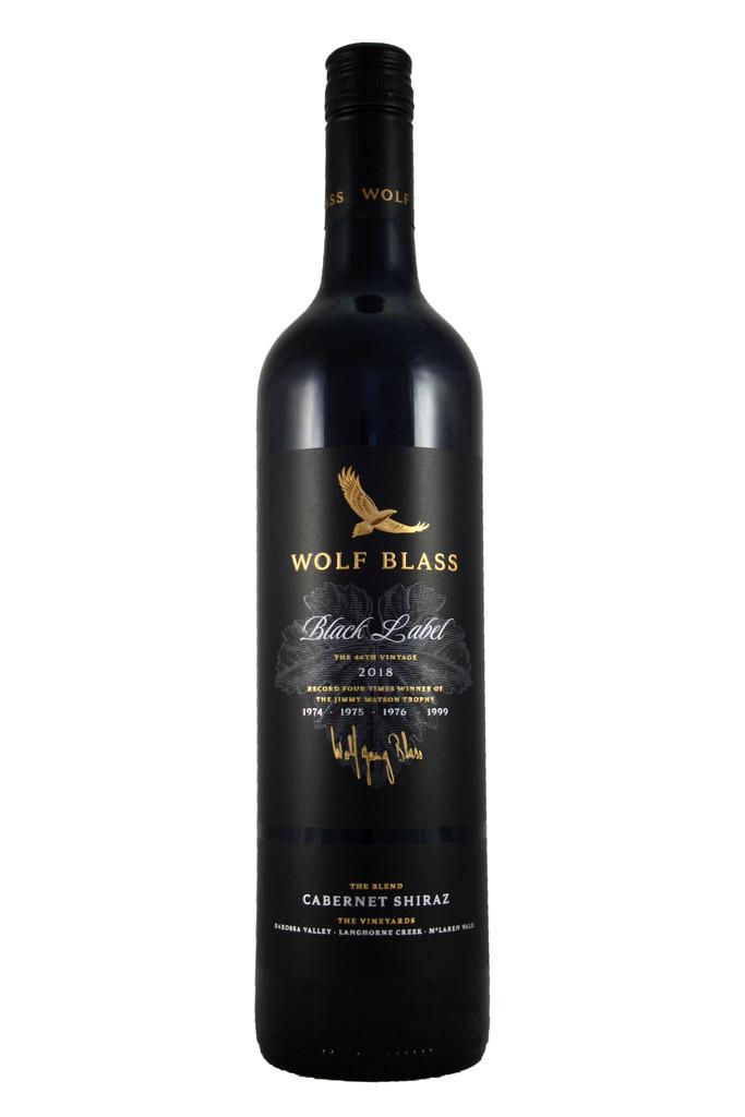 Wolf Blass Black Label Cabernet Shiraz, Australia, 2018
