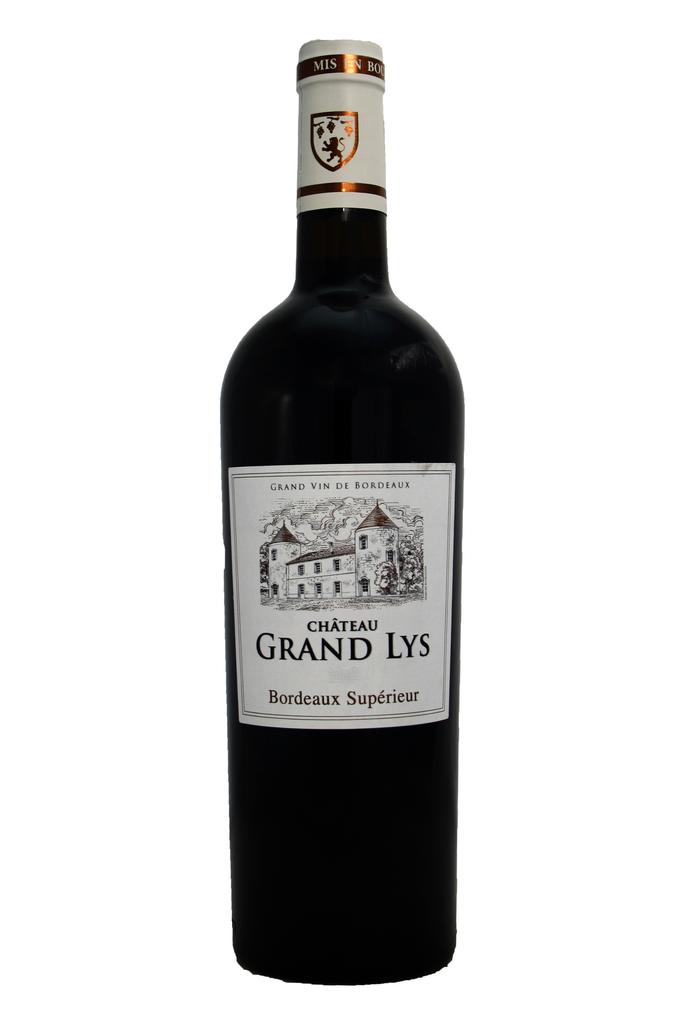 Château Grand Lys Bordeaux Supérieur, Entre-deux-Mers, Bordeaux, France 2019