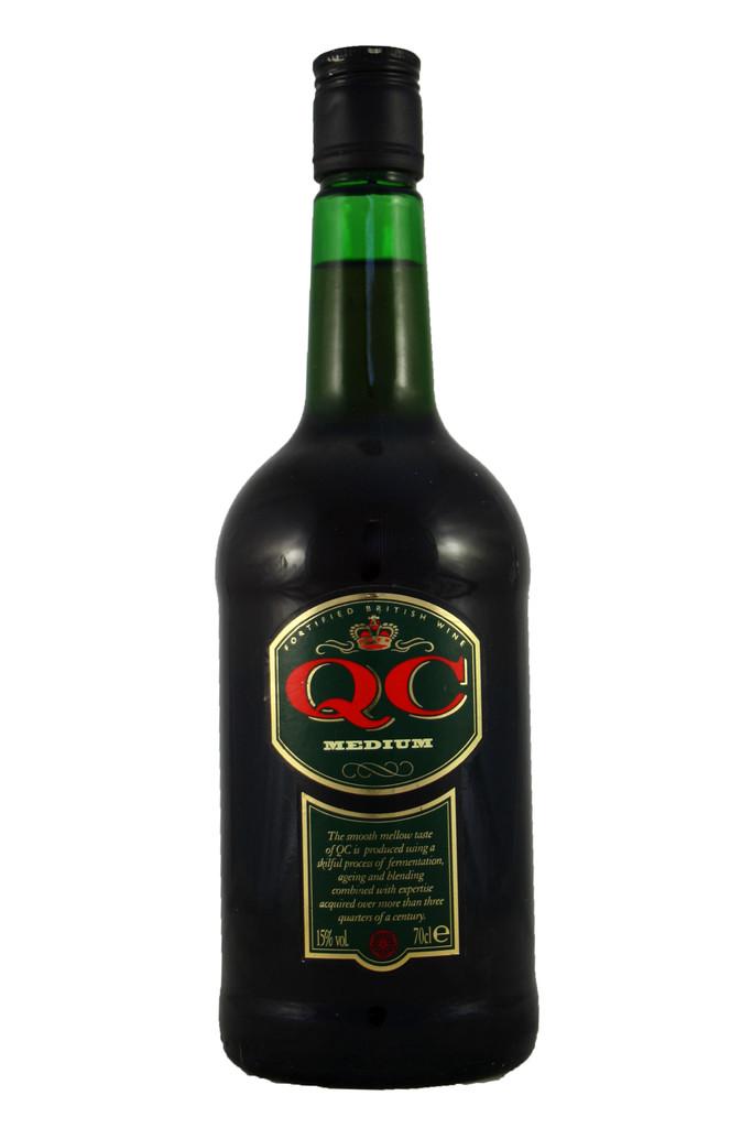 Q C Medium British Fortified Wine