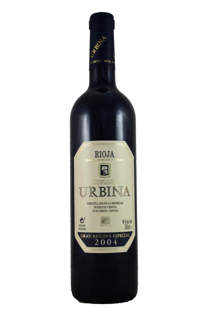 Urbina Gran Reserva Especial, Rioja, Spain, 2004