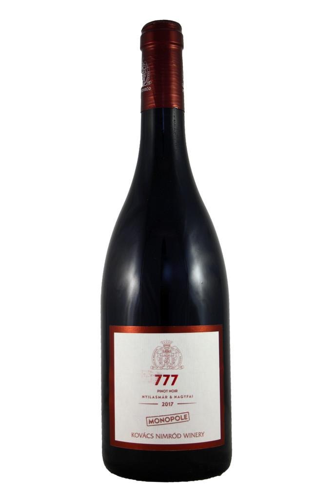 Kovacs Nimrod Monopole 777 Pinot Noir, Eger, Hungary, 2017
