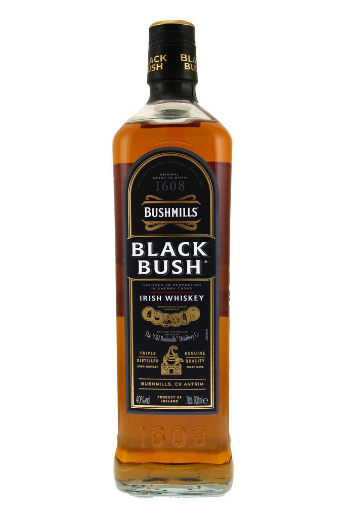 Black Bush Bushmills Irish Whiskey