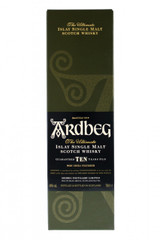 Ardbeg 10 year old box