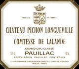 Chateau Pichon Longueville Comtesse De Lalande, 2eme Grand Cru Classe, Pauillac, Bordeaux,  2010