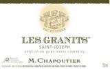 Saint Joseph Blanc Les Granits , Northern Rhone, France, M Chapoutier 2012