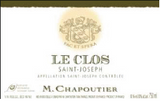 Saint Joseph Rouge Le Clos, M Chapoutier, Northern Rhone, France 2011