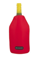 Wine Cooler Sleeve Cerise Red