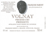 Volnay 1er Cru Les Fremiets F Parent 2011
