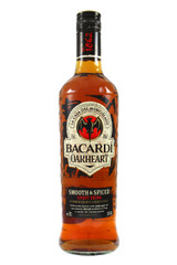 Bacardi Oak Heart Smooth and Spiced Rum