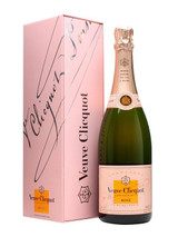 Veuve Clicquot Rosé Champagne in a Gift Box, Champagne, France