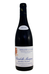 Chambolle Musigny, Côte de Nuits, Burgundy, A F Gros 2014