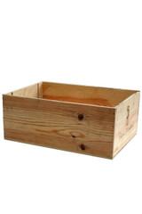Empty Wooden Wine Box