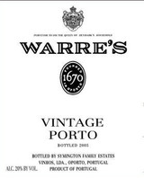 Warres Vintage Port 2016 6 x 75cl