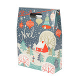 3 Bottle Wine Gift Box Noel Design