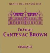 Chǽteau Cantenac Brown 2018 Margaux Troisieme Cru Classe 12 x 75cl