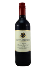 Freedom Cross Cinsault Cabernet Sauvignon, Franschhoek Cellar, Western Cape, South Africa 2018