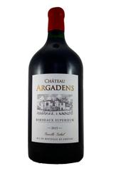 Chateau Argadens Double Magnum 2015, Entre deux Mers, Bordeaux, France
