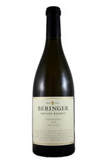Beringer Private Reserve Chardonnay, Napa Valley, California, 2016