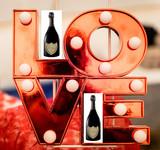 Valentines Champagne