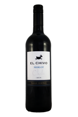El Chivo Merlot, Valle Central, Chile 2019
