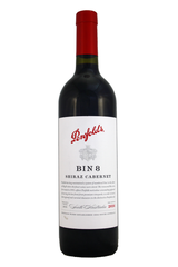 Penfolds Bin 8 Cabernet Shiraz 2017, a multi district blend, South Australia