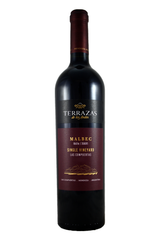 Terrazas Single Vineyard Malbec 2017, Las Compuertas vineyard, Mendoza, Argentina