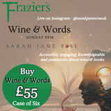 Wine & Words Case – Brought to you by Frazier's