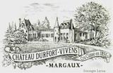 Chateau Durfort Vivens 2020 6 x 75cl En Primeur