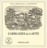 Chateau Lafite Rothschild Carruades de Lafite 2020 12 x 75cl En Primeur