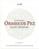Chateau Ormes de Pez 2020 12 x 75cl En Primeur
