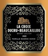 Château Ducru Beaucaillou La Croix de Beaucaillou 2020 6 x 75cl En Primeur