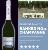 Champagne Joseph Perrier Ranked No1