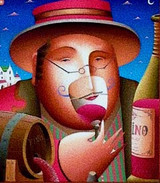 "The ""Wine Taster"" - A hard day at the office!"