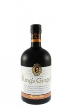 The King`s Ginger, a liqueur specifically formulated in 1903 for King Edward VII.