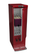 Wine Cooler and Dispenser for Bag in the Box Wines