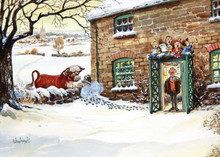 Whos there Thelwell Christmas Card