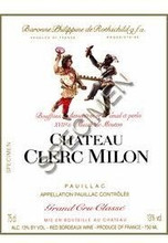Château Clerc Milon 2018 Pauillac Cinquieme Cru Classe 12 x 75cl