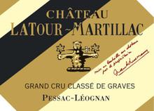 Château Latour Martillac Rouge 2018 Pessac Leognan 6 x 75cl