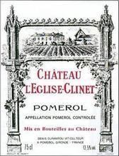 Château L'Eglise Clinet 2018 Pomerol 6 x 75cl