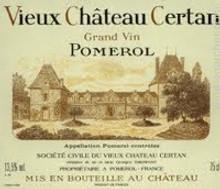 Château Vieux Château Certain 2018 Pomerol 6 x 75cl