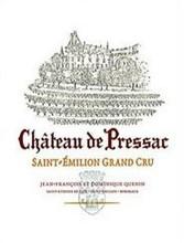 Château de Pressac 2018 Saint Emilion Grand Cru Classe 12 x 75cl