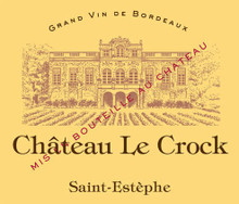 Château Le Crock 2018 Saint Estephe 12 x 75cl