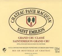 Château Pavie Macquin 2018 Saint Emilion Premier Grand Cru Classe B 12 x 75cl