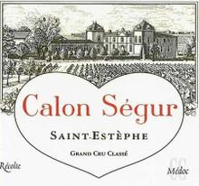 Château Calon Segur 2018 Saint Estephe Troisieme Cru Classe 12 x 75cl