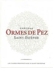 Château Ormes de Pez 2018 Saint Estephe 12 x 75cl