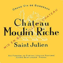 Château Moulin Riche 2018 Saint Julien 12 x 75cl