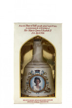 Bell's Whisky Decanter to Commemorate the 60th Birthday of Queen Elizabeth II 21st April 1986 Box