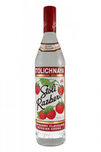 Stolichnaya Razberi (Raspberry) Russian Vodka